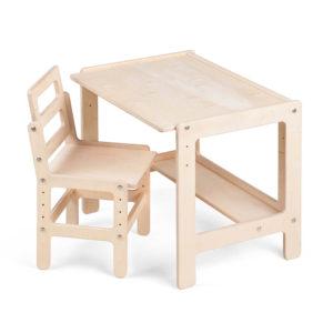 Детский стол и стул растущий